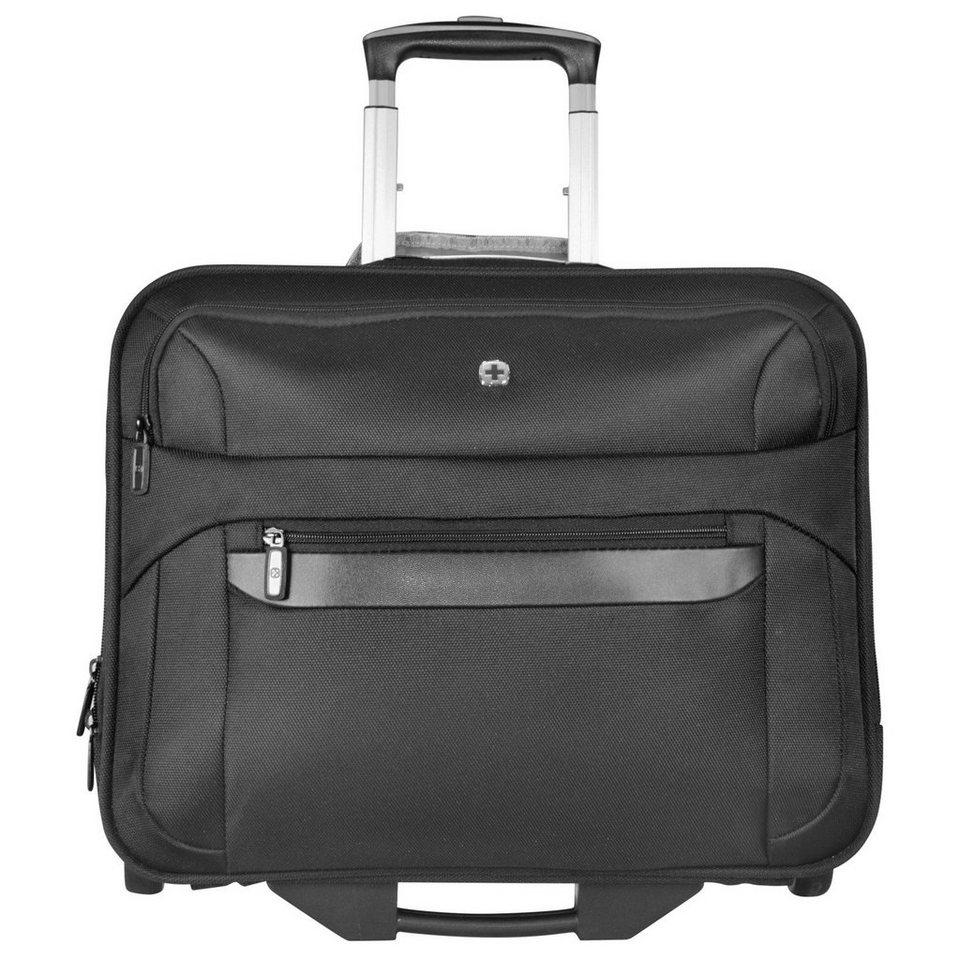 Wenger Wenger Reisegepäck 2-Rollen Trolley 47 cm Laptopfach in schwarz