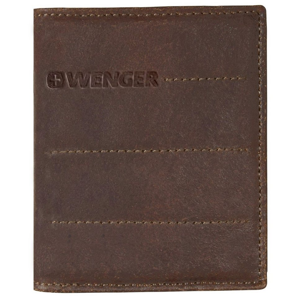Wenger Wenger Street Hunter Geldbörse Leder 9 cm in brown