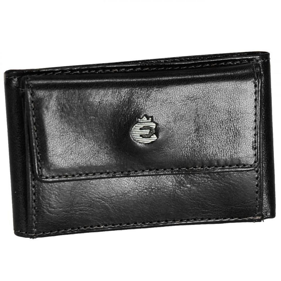 Esquire Toscana Damengeldbörse Leder 9,5 cm in black