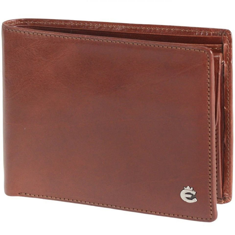 Esquire Toscana Geldbörse III Leder 12,5 cm in brown