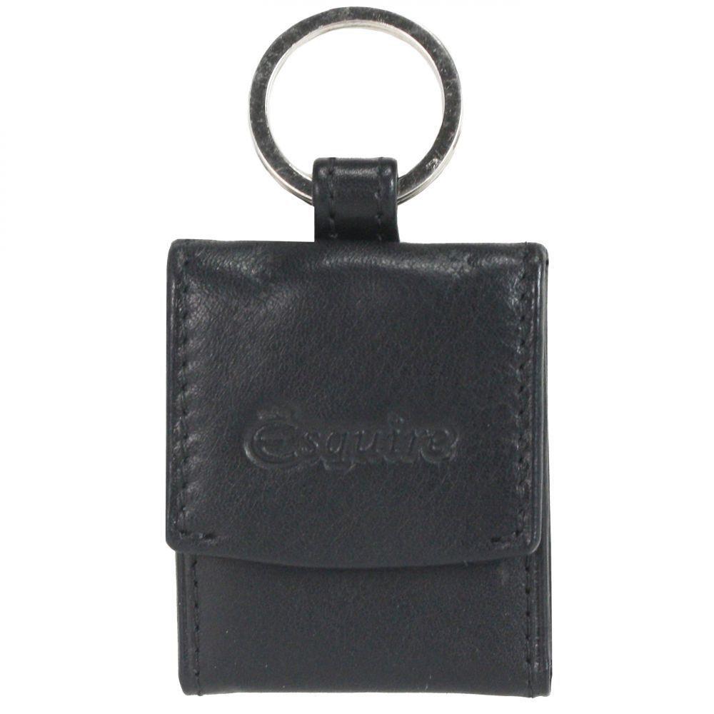 Esquire Silk Schlüsselanhänger Leder 4,5 cm