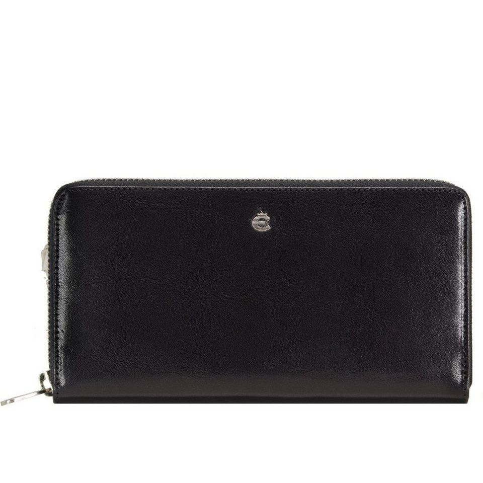 Esquire Esquire Toscana Damengeldbörse Leder 21 cm in black