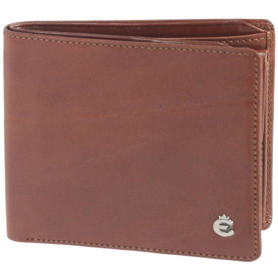 Esquire Toscana Geldbörse Leder 11 cm in brown