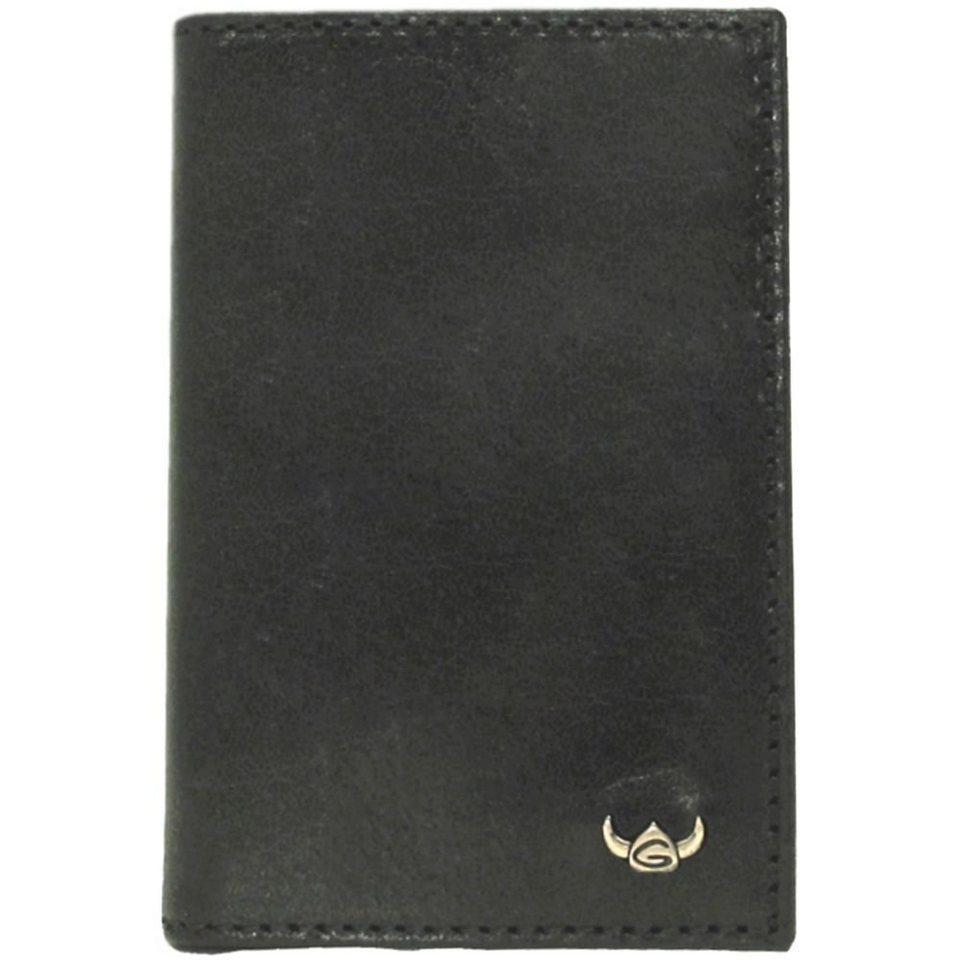 Golden Head Colorado RFID Protect Kreditkartenetui Leder 7 cm in schwarz