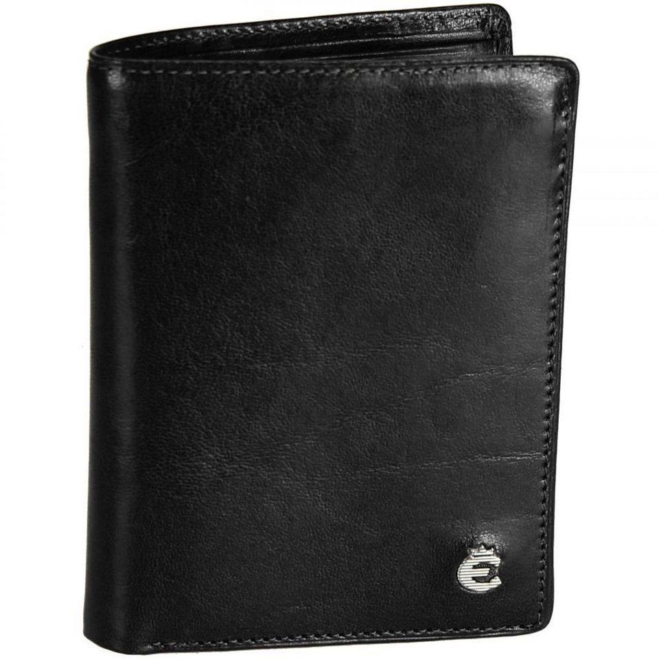 Esquire Esquire Toscana Geldbörse Leder 9 cm in black