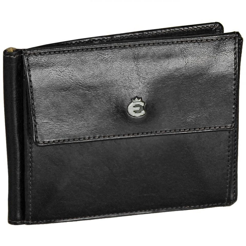 Esquire Esquire Toscana Damengeldbörse Leder 11,5 cm in black