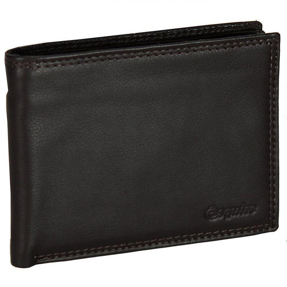 Esquire Esquire Duo Geldbörse Leder 12,5 cm in brown
