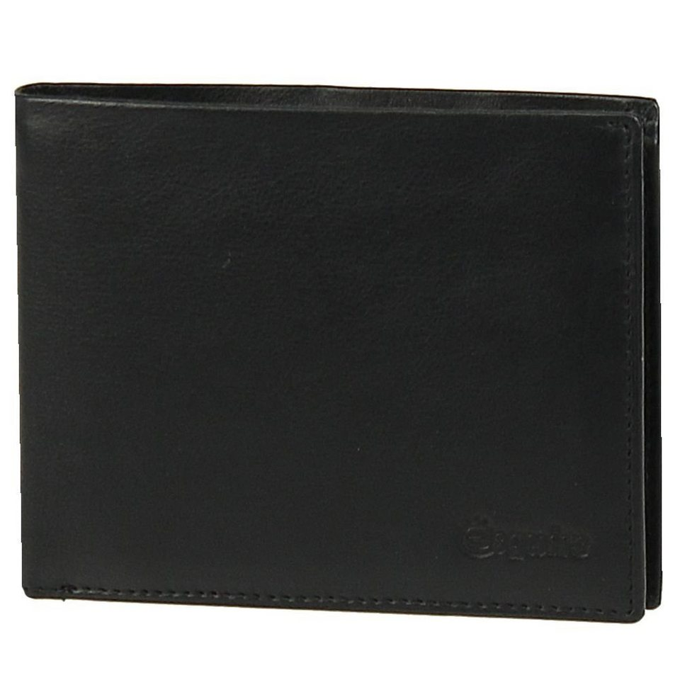 Esquire Esquire Silk Geldbörse Leder 12 cm in black