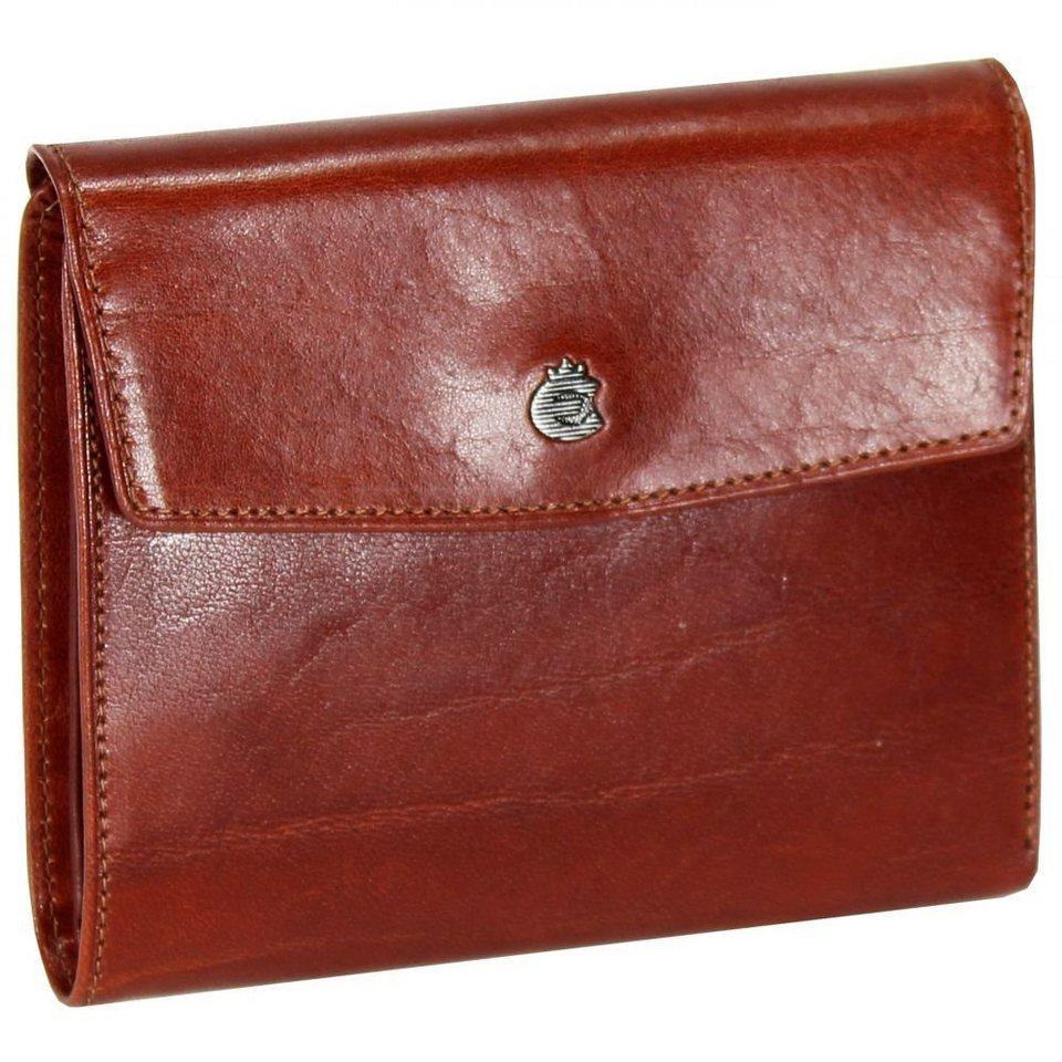 Esquire Toscana Damengeldbörse Leder 12,5 cm in brown
