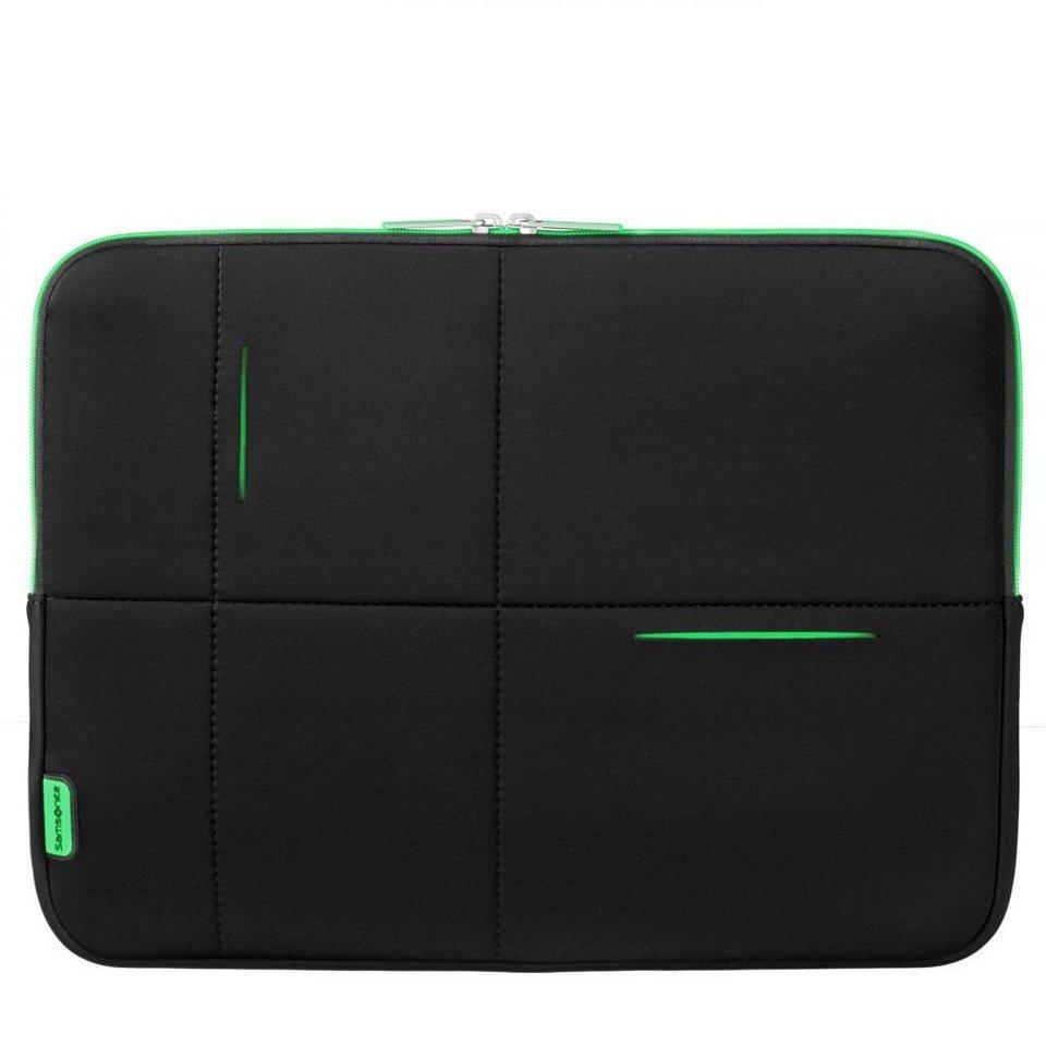 Samsonite Airglow Sleeves Laptop-Hülle 40 cm in black-green
