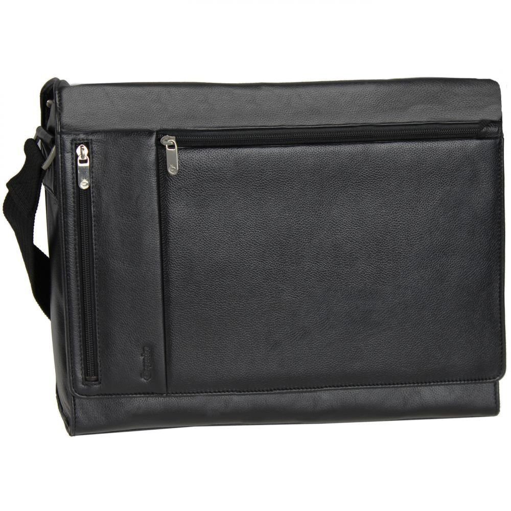 Esquire Courier Laptoptasche Leder 39 cm