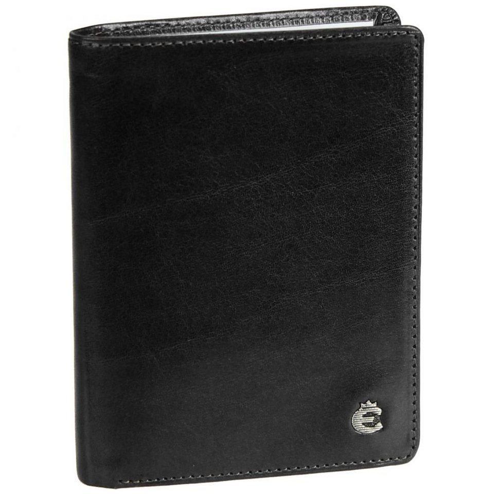 Esquire Toscana Ausweisetui Leder 10 cm in black