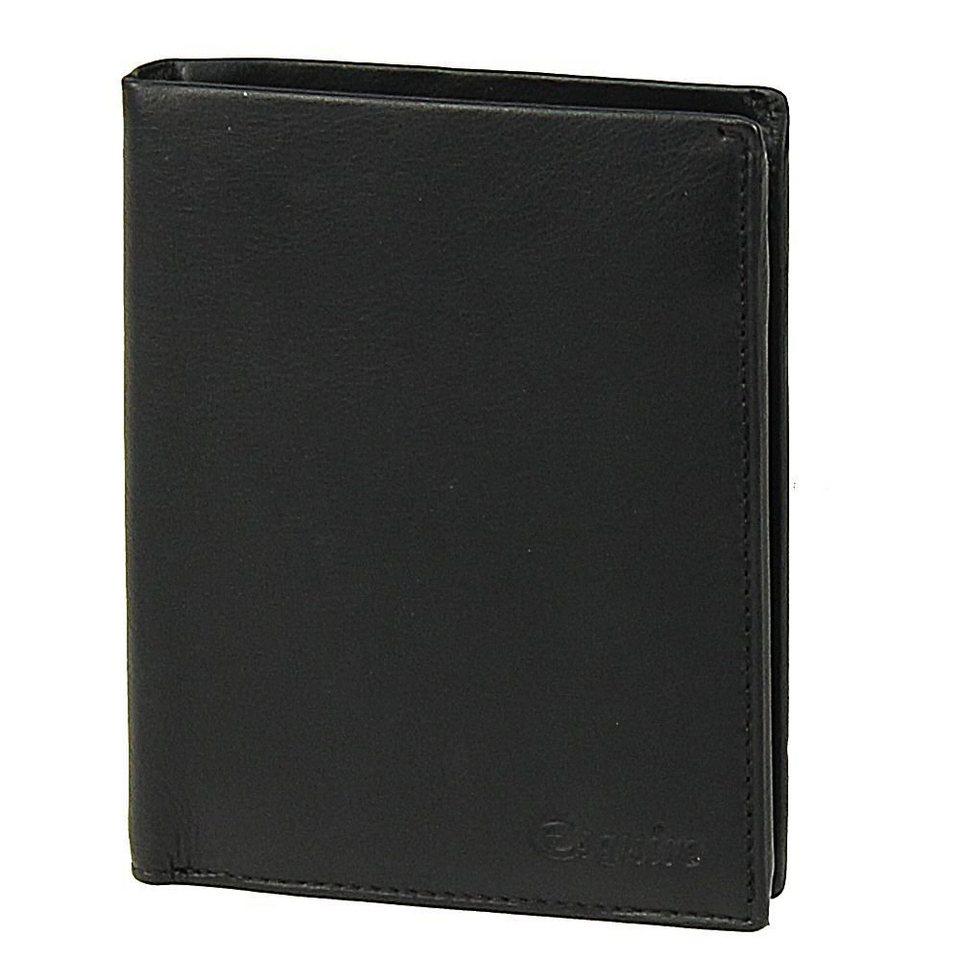 Esquire Silk Geldbörse Leder 9 cm in black