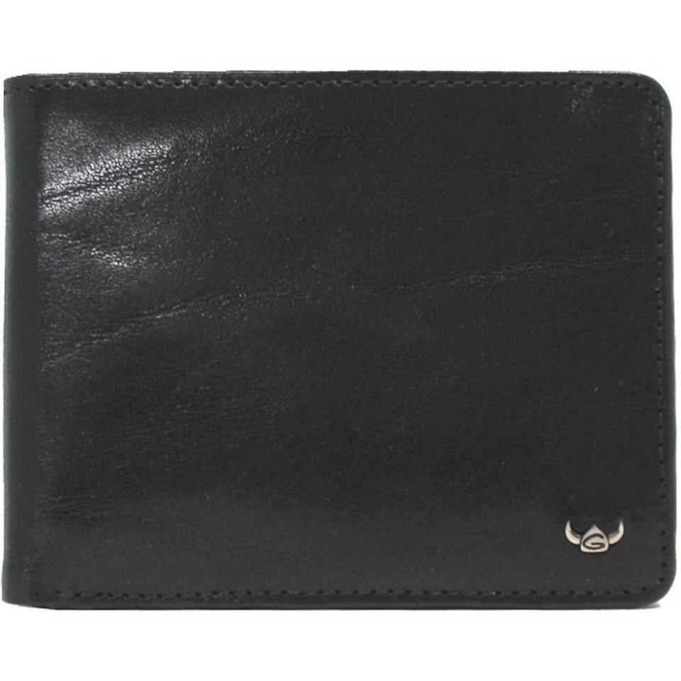 Golden Head Colorado RFID Protect Geldbörse Leder 12,5 cm in schwarz