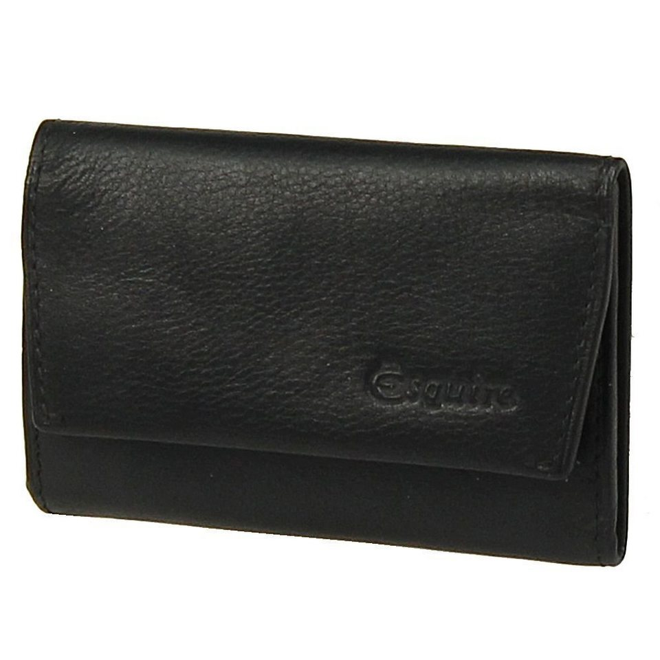 Esquire Silk Schlüsseletui Leder 10 cm in black