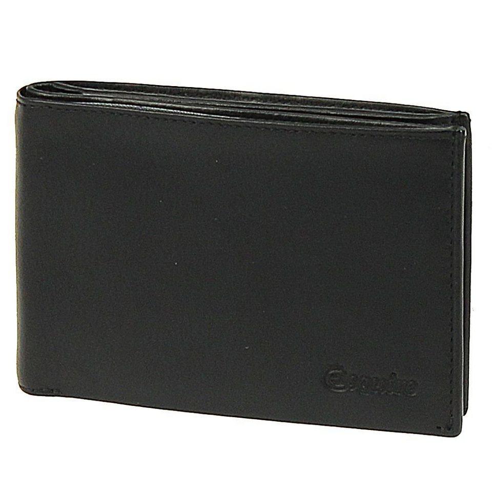 Esquire Silk Geldbörse Leder 12 cm in black