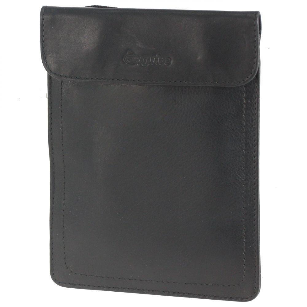 Esquire Silk Brustbeutel Leder 12 cm
