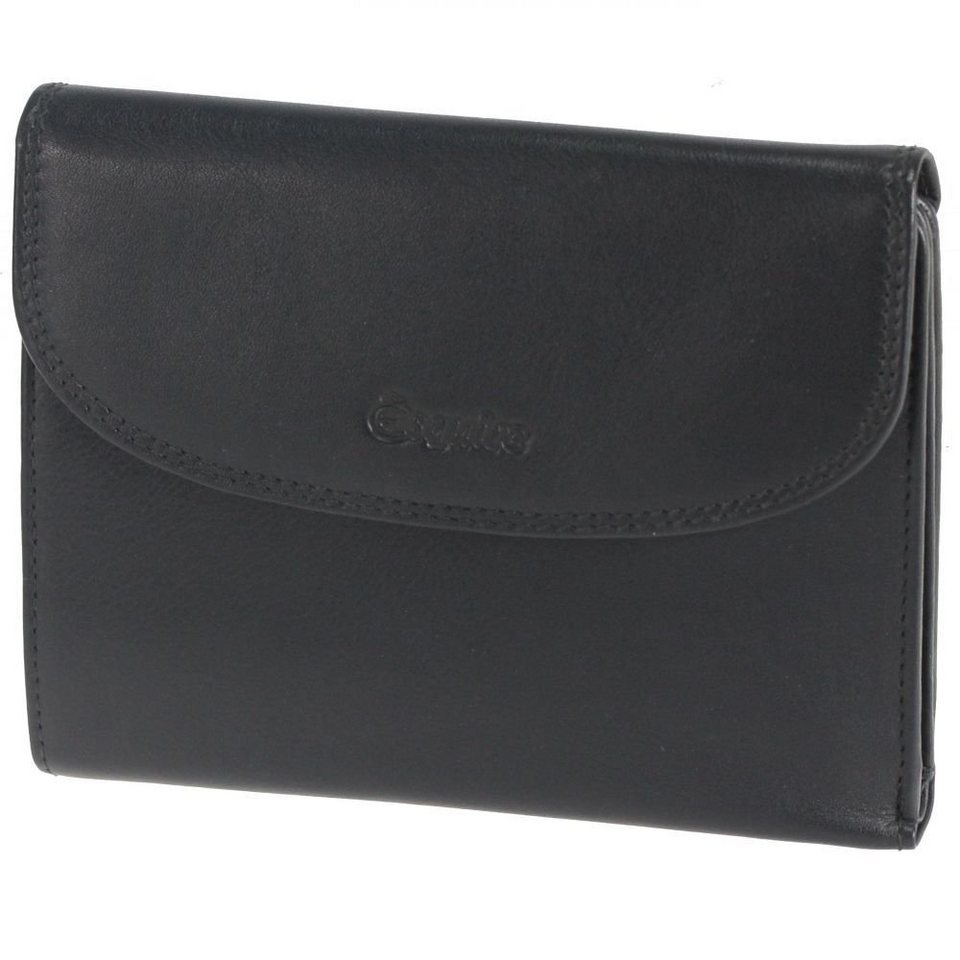 Esquire Silk Damengeldbörse Leder 14 cm in black