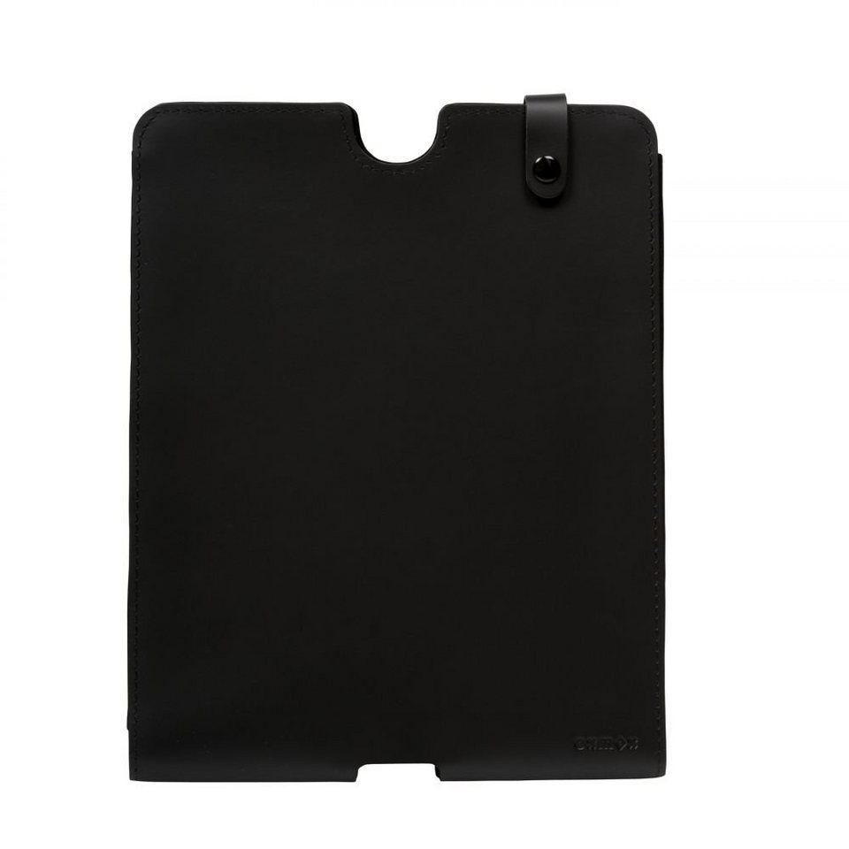 OXMOX Pure IPad-Hülle Leder 24,5 cm in black