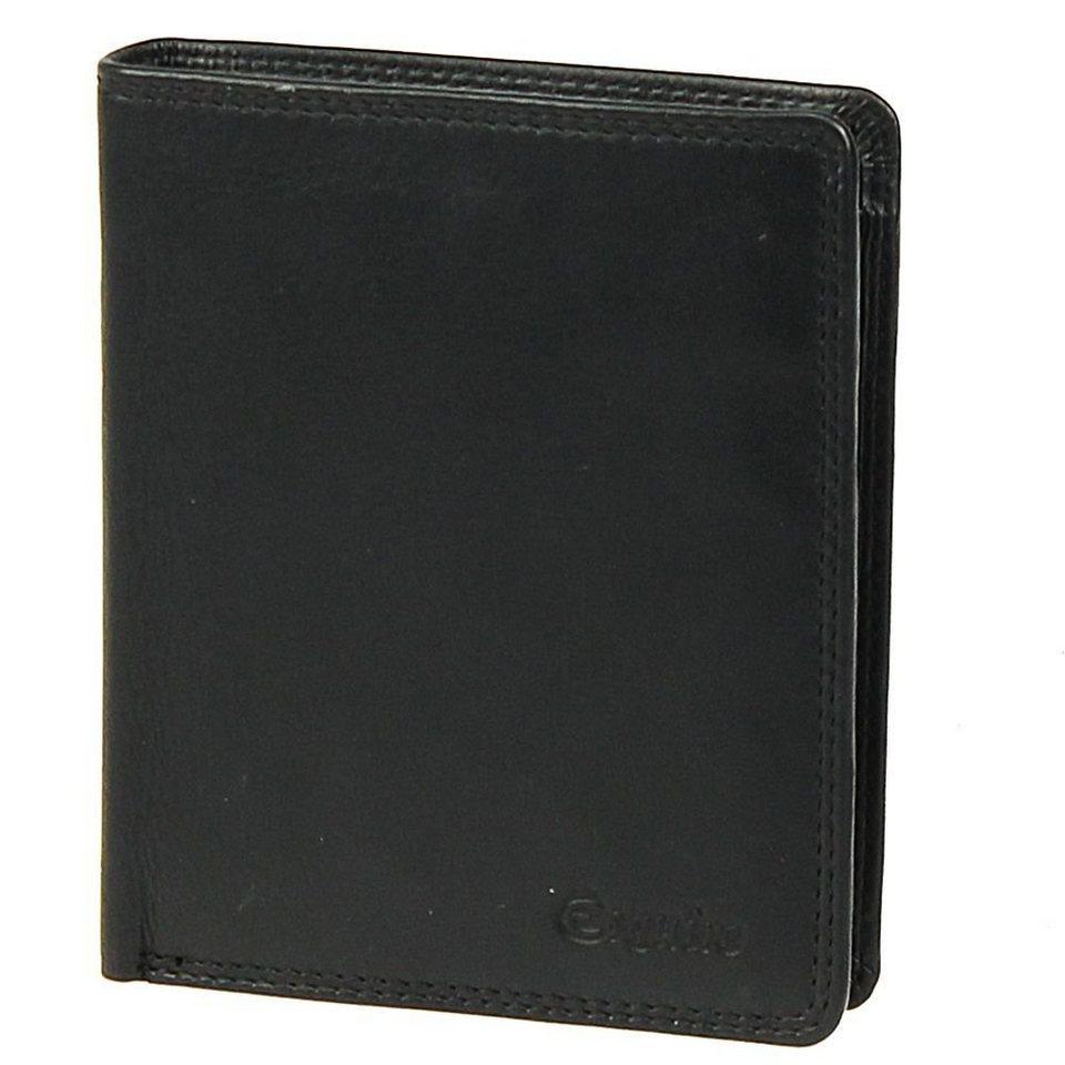 Esquire Esquire Silk Geldbörse Leder 10 cm in black