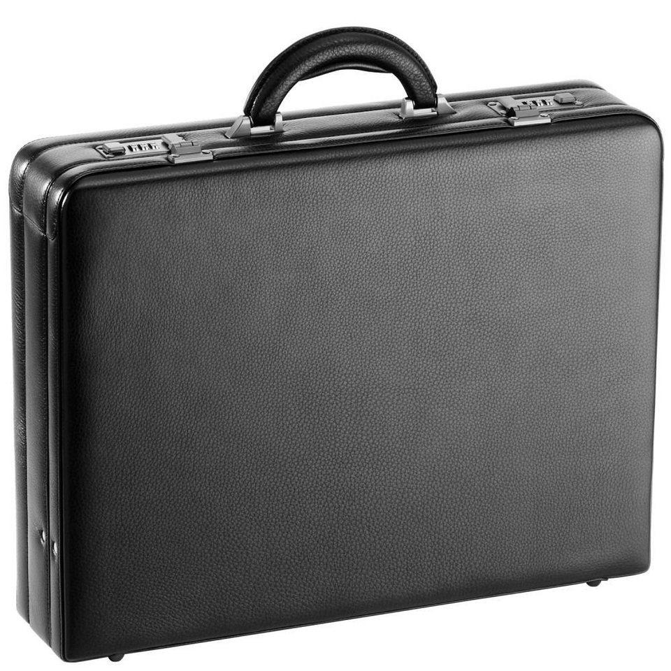 d & n d&n Tradition Aktenkoffer Leder 45 cm in schwarz