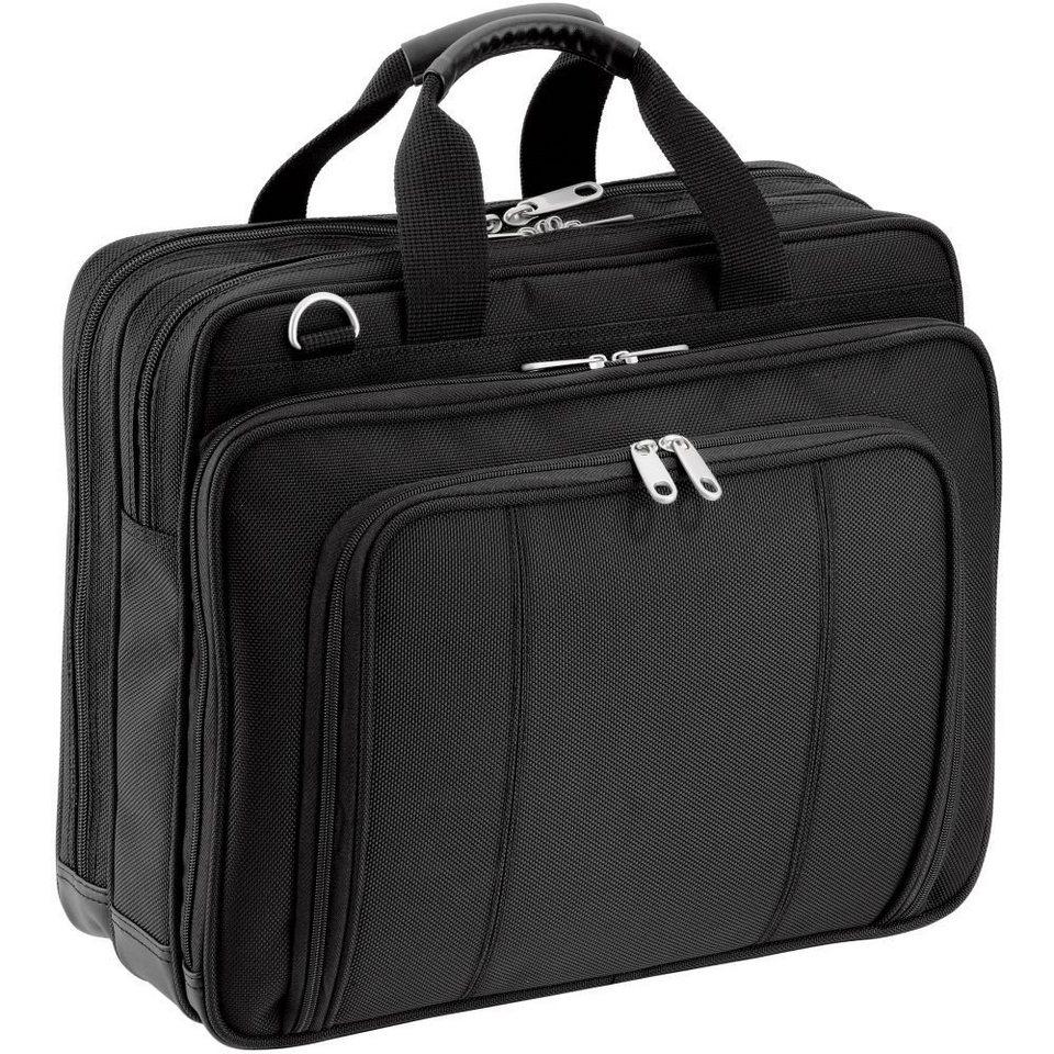 d & n Basic Laptoptasche 38 cm in schwarz