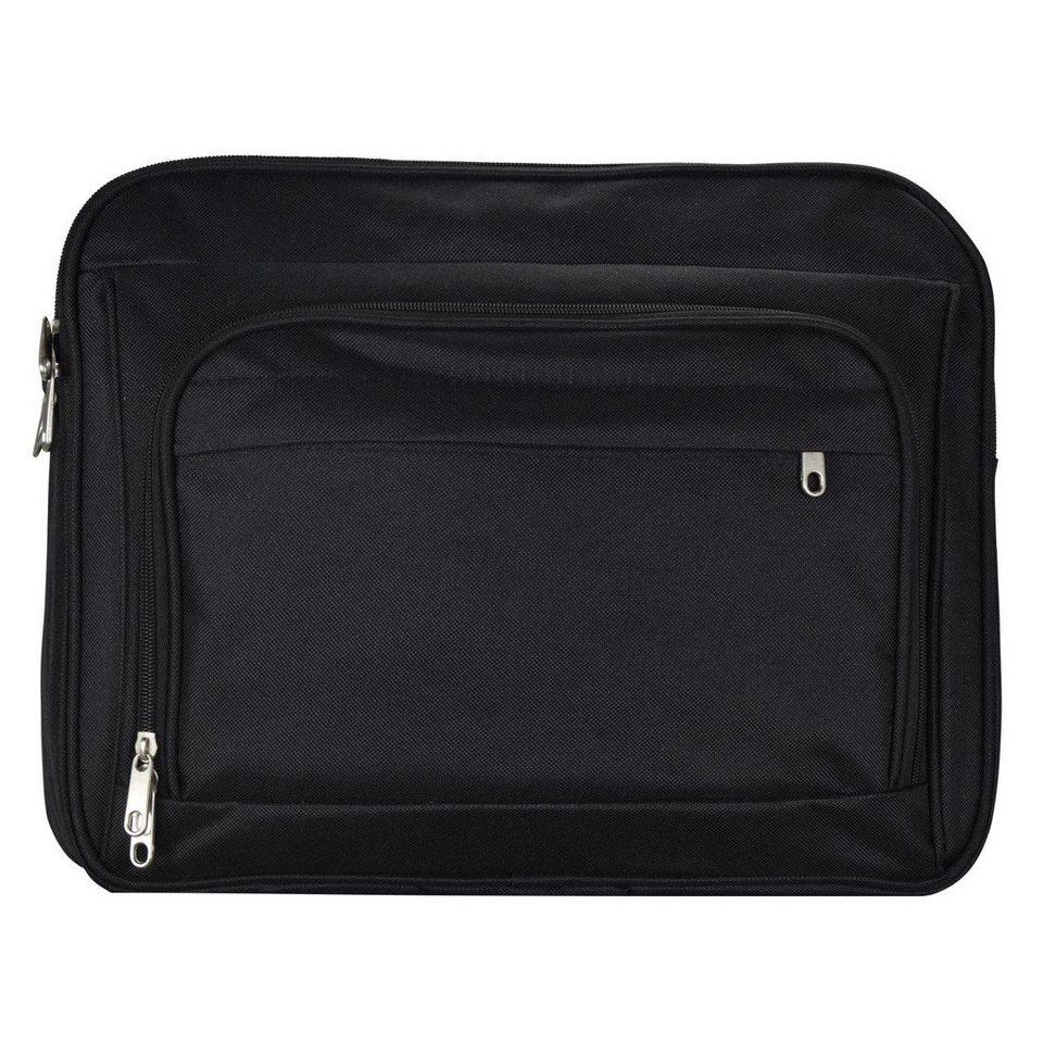 d & n d&n Travel Bags Flugumhänger 38 cm in schwarz