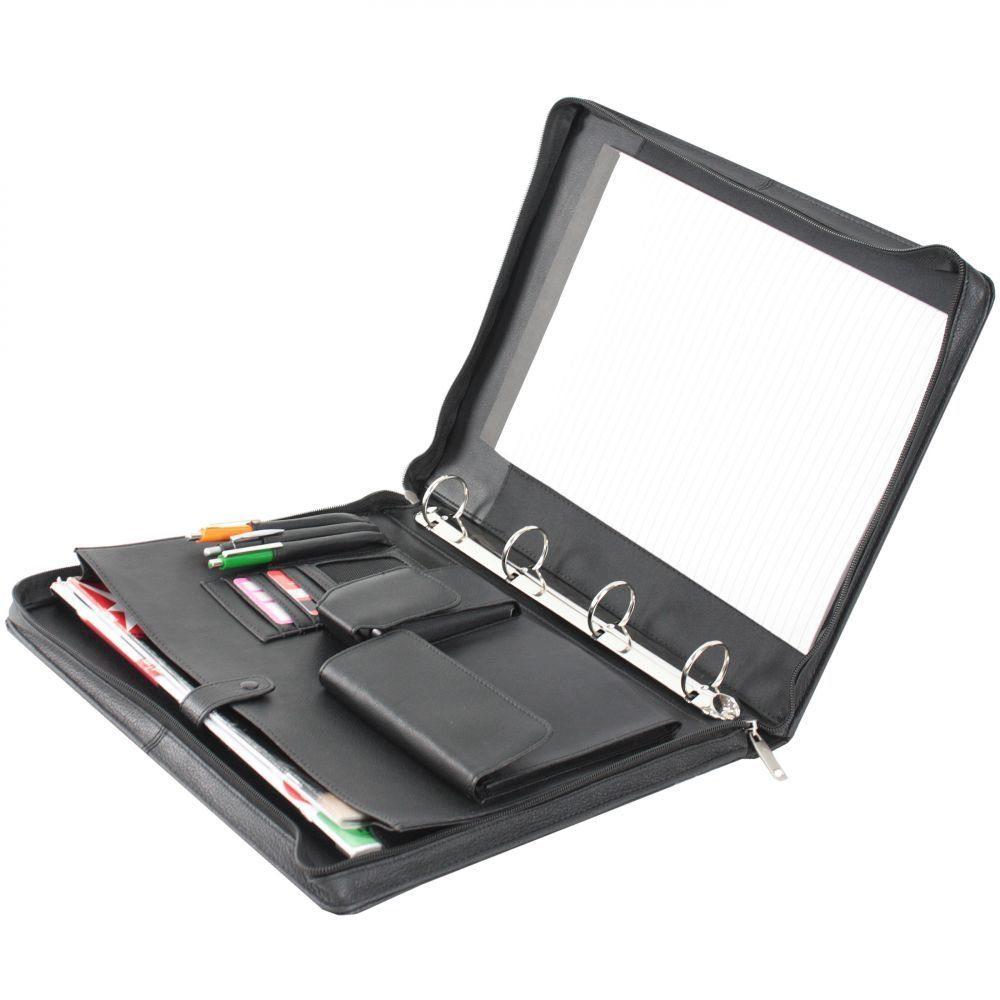 Dermata Schreibmappe I Leder 34,5 cm