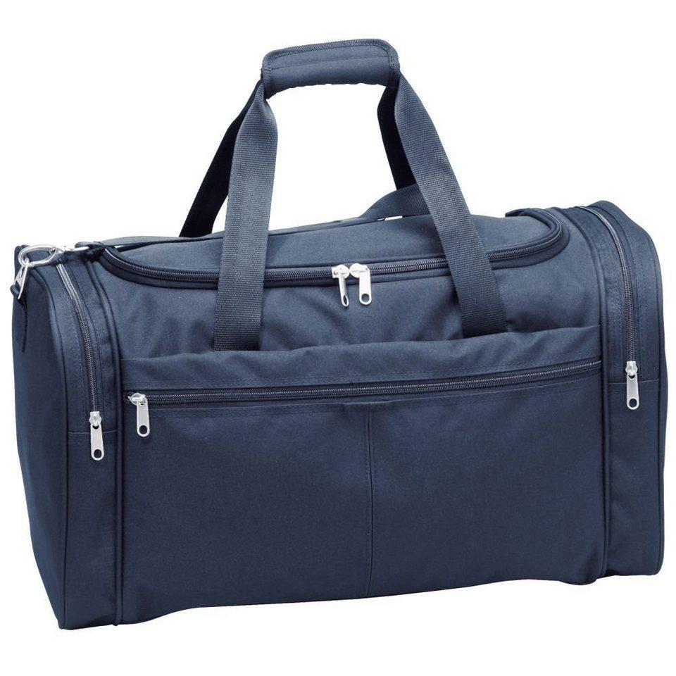 d & n d&n Travel Line 6600 Reisetasche 51 cm in blau-