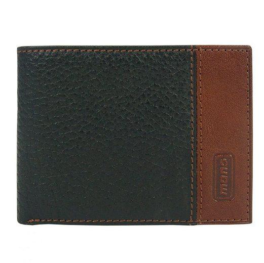 MANO King Mini Geldbörse Leder 10 cm
