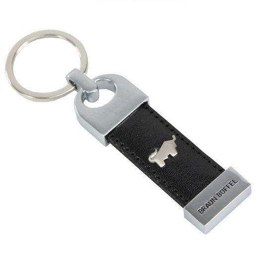 Braun Büffel Basic Schlüsselanhänger Leder 8 cm