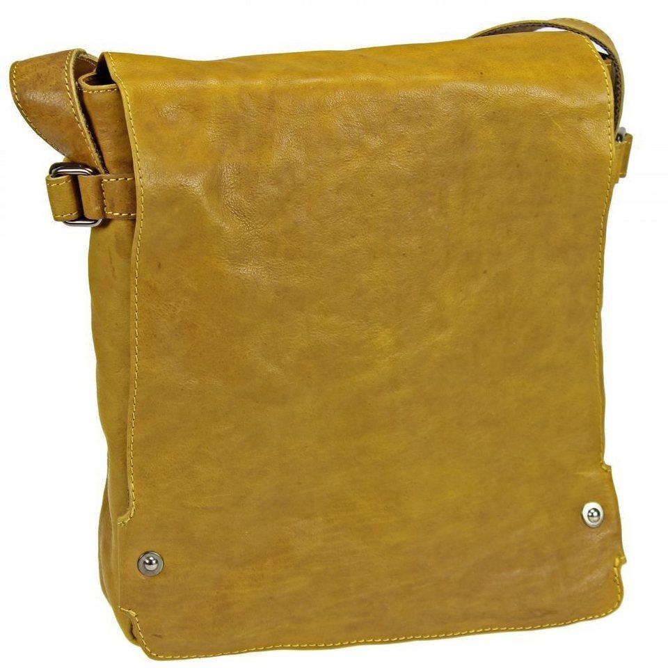 Harold's Pull Up Messenger Leder 28 cm in rusty