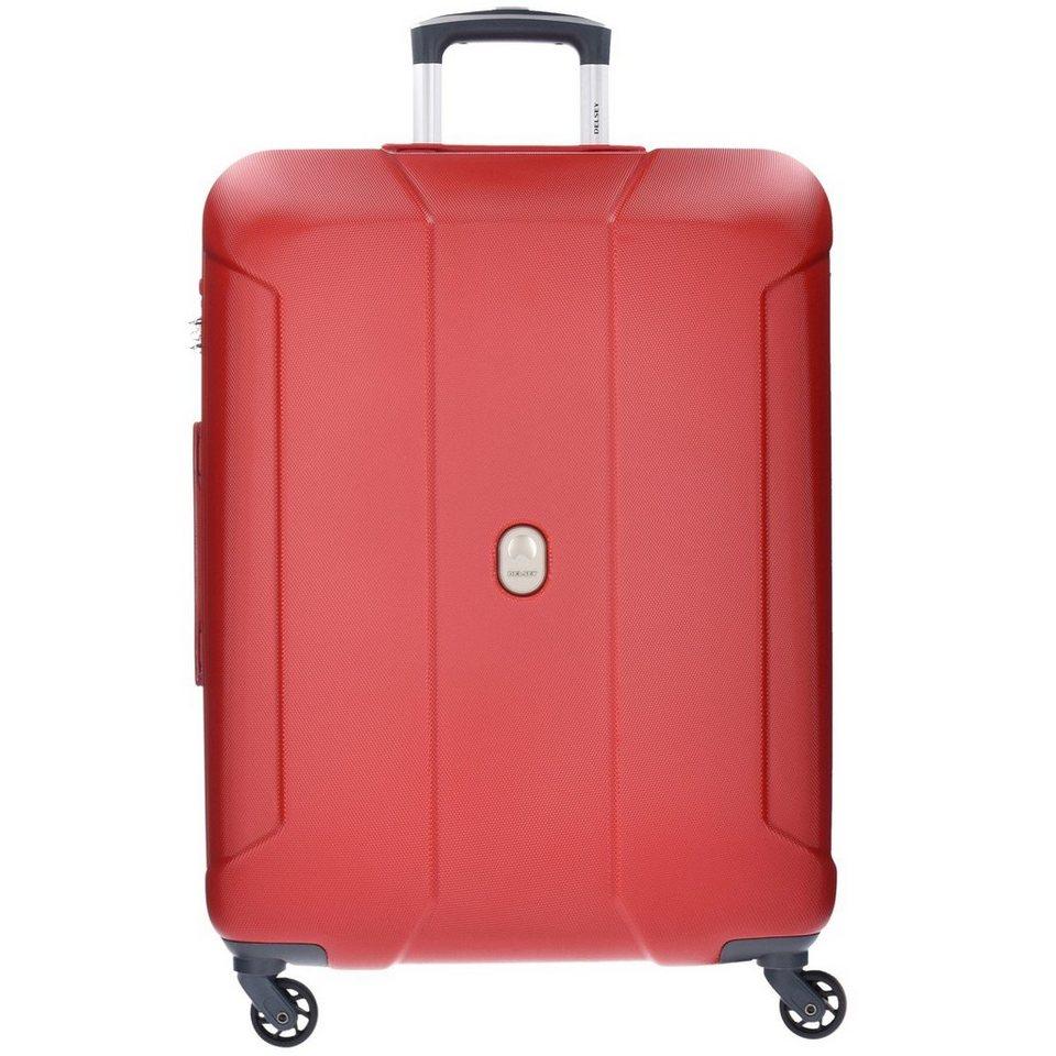 Delsey Delsey Cineos 4-Rollen Trolley 76 cm in red