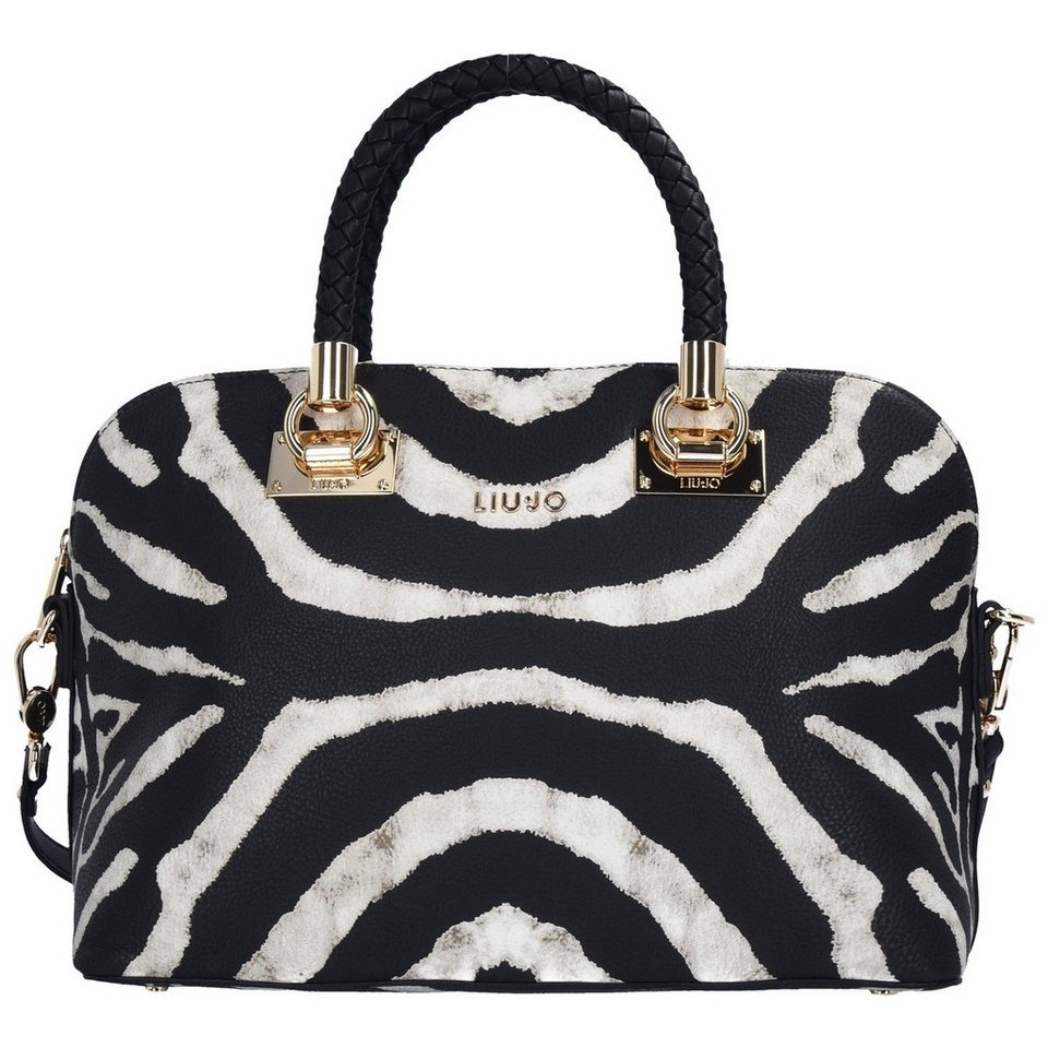 Liu Jo Shopping M Anna Shopper Tasche 32 cm in black/white