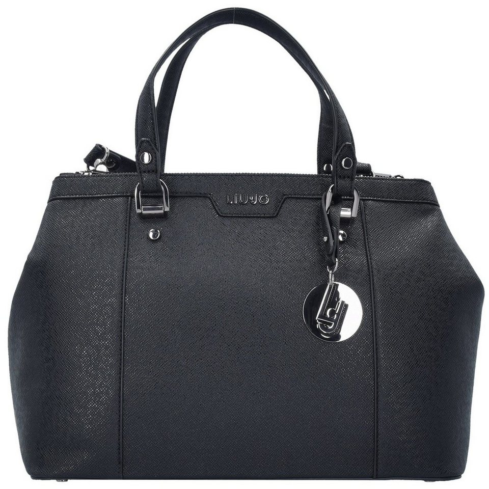 Liu Jo Shopping Zip Cannes Shopper Tasche 15 cm in nero/gun