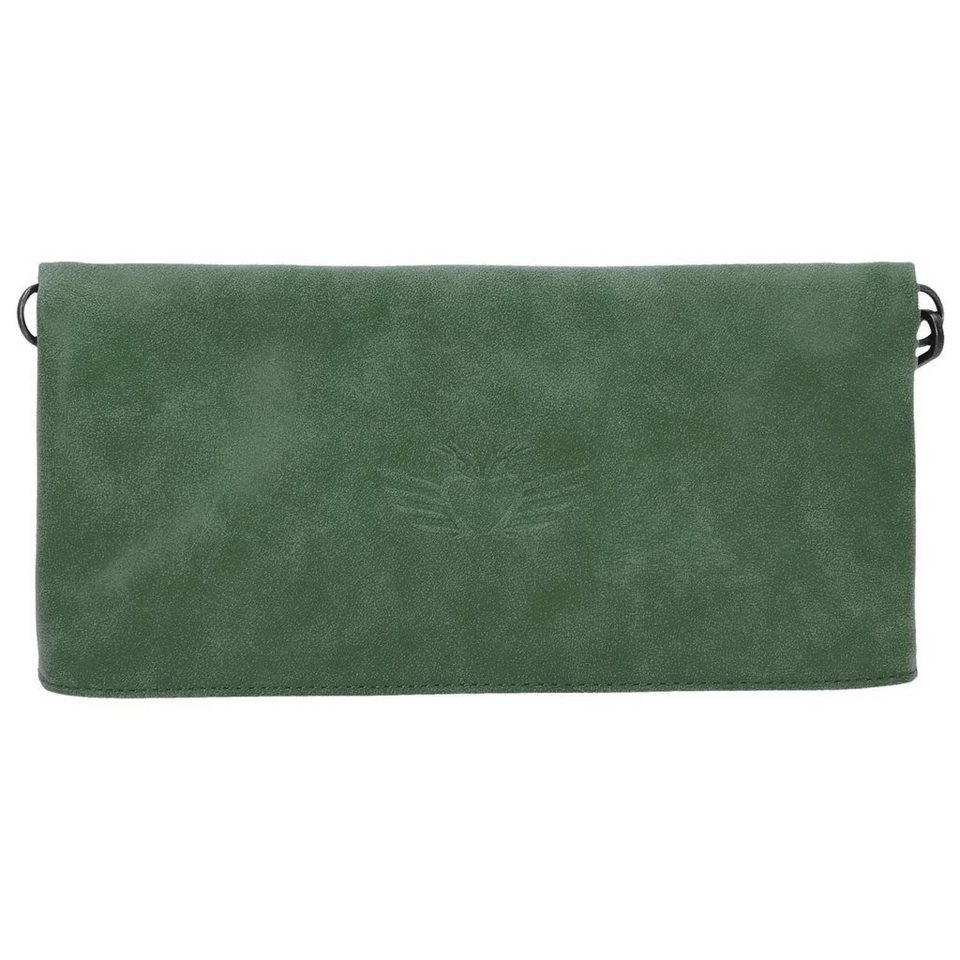 Fritzi aus Preußen Fritzi aus Preußen Ronja Wing Vintage Clutch Tasche 29 cm in tundra