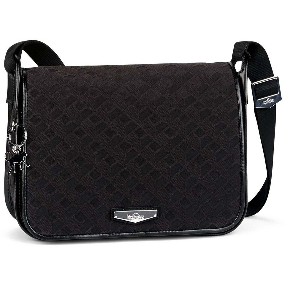 KIPLING City Luxeables Umhängetasche 28 cm in diamond black