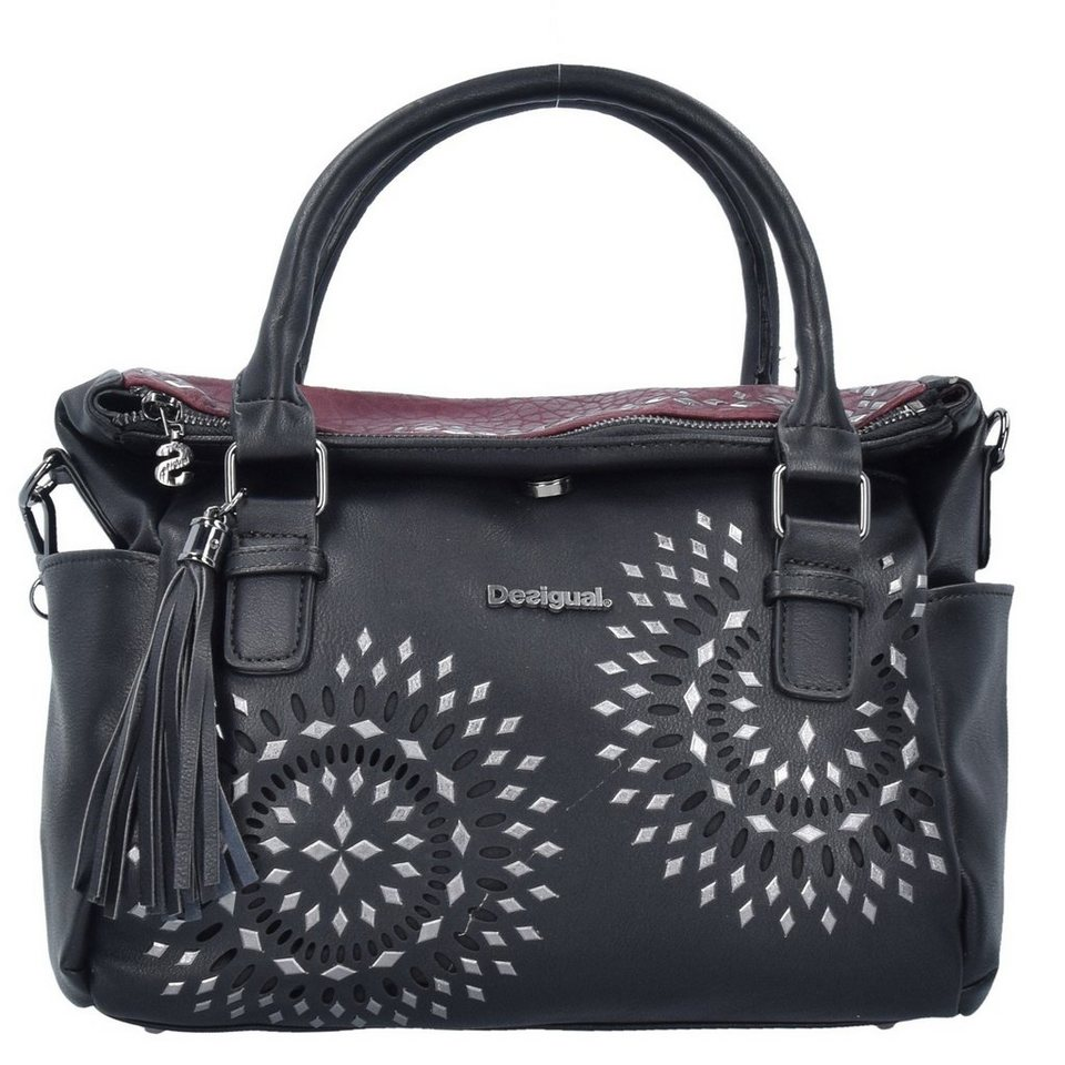Desigual Desigual BOLS Loverty Luxury Dreams Handtasche 33 cm in negro