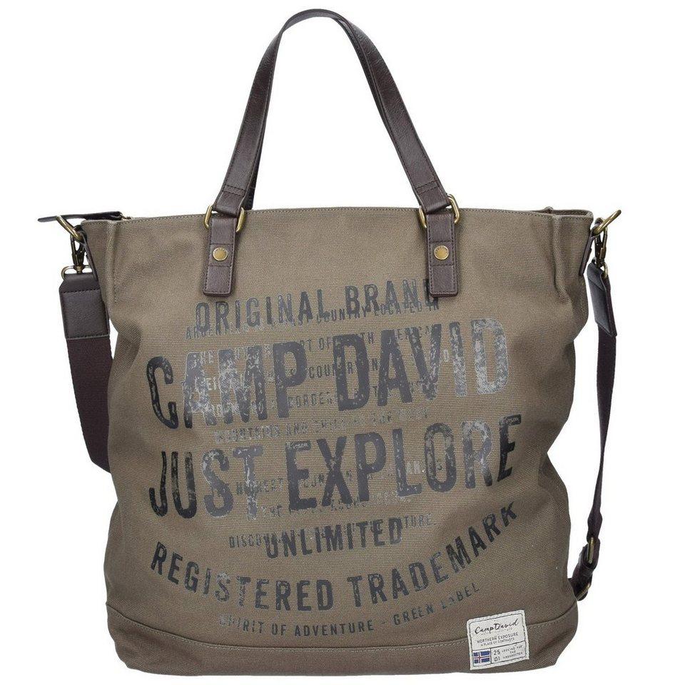 Camp David Camp David Yukon River Shopper Tasche 39 cm in khaki