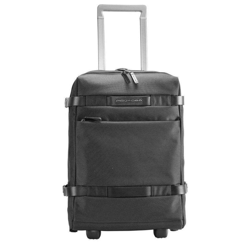 Piquadro Piquadro Move 2 2-Rollen Kabinentrolley 48 cm Laptopfach in black