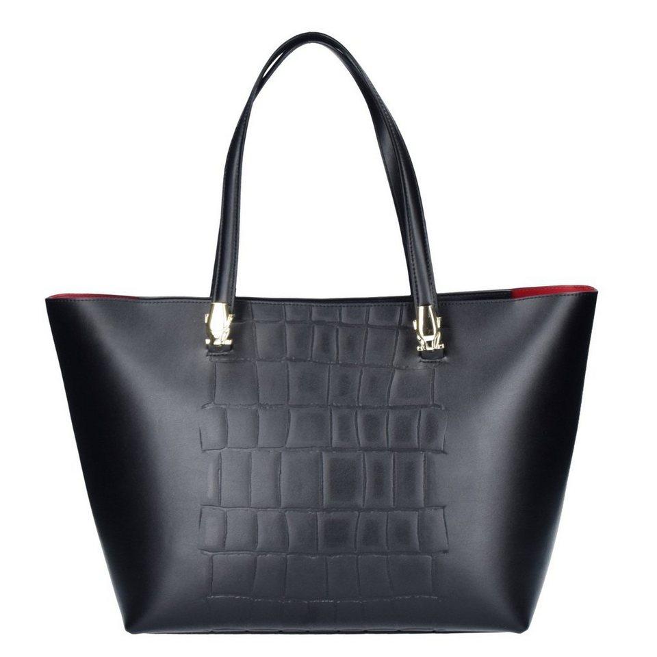Roberto Cavalli Class Roberto Cavalli Class Panther4ever Shopper Tasche Leder 33 cm in black