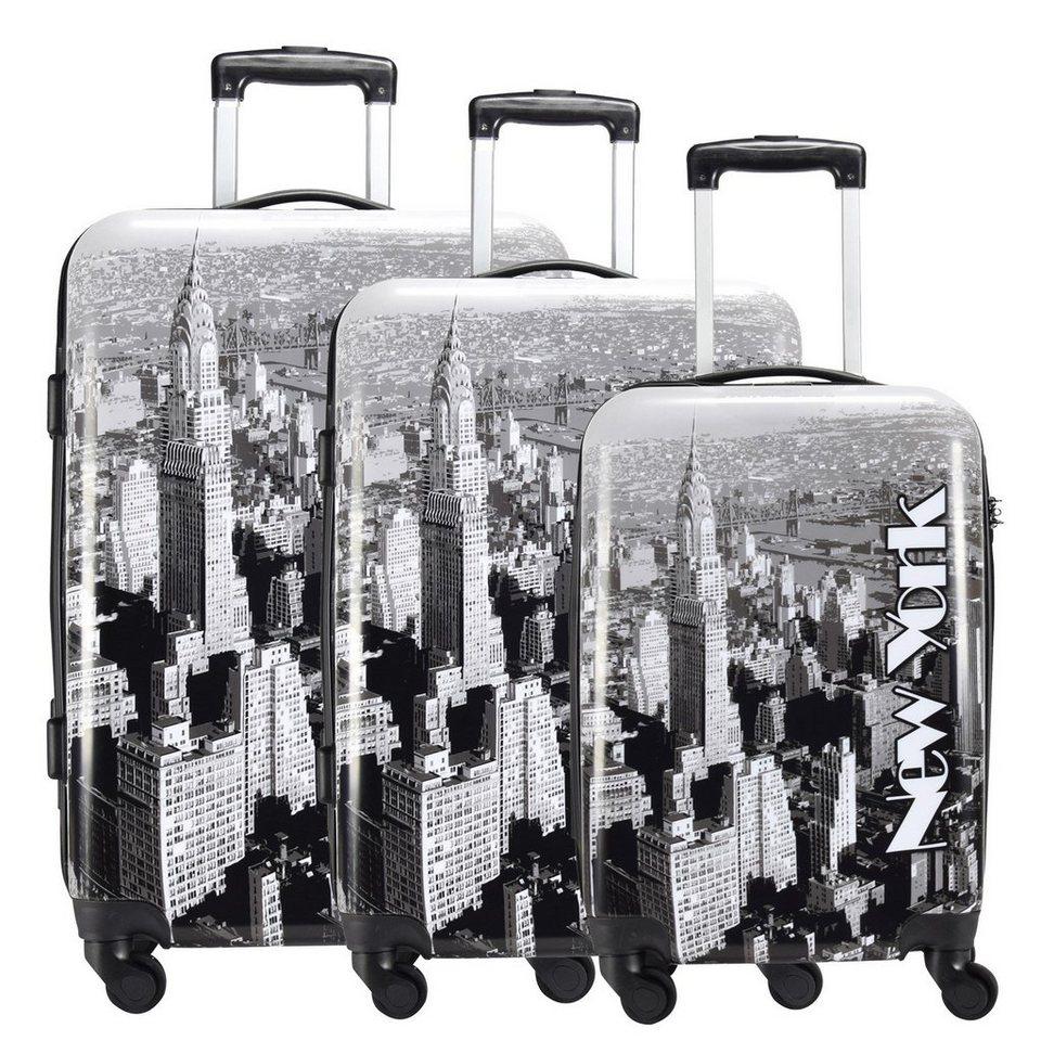 NOWI New York 4-Rollen Kofferset 3-tlg in new york