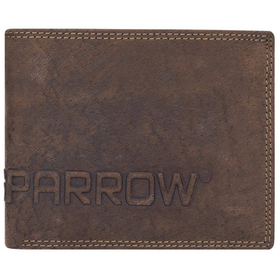 Spikes & Sparrow Spikes & Sparrow Amsterdam Herren Querformat Geldbörse Leder 12 in dark brown