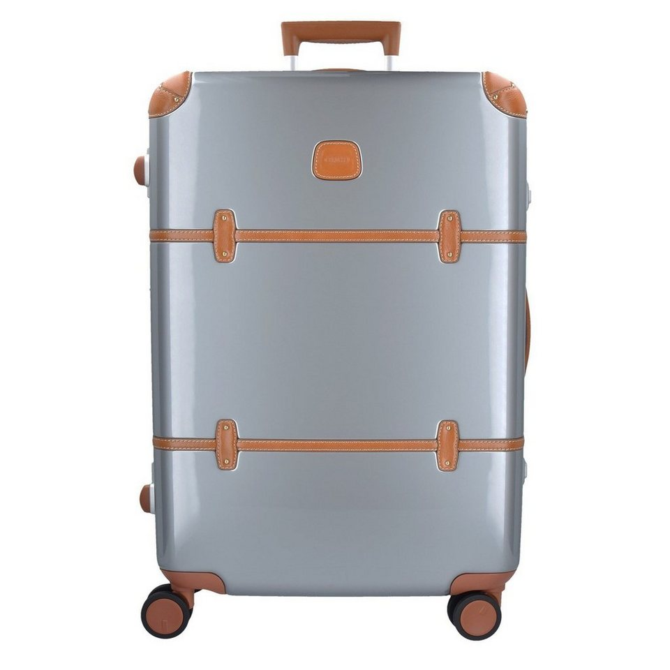 Bric's Bellagio Metallo 4-Rollen Trolley 70 cm in silberfarben