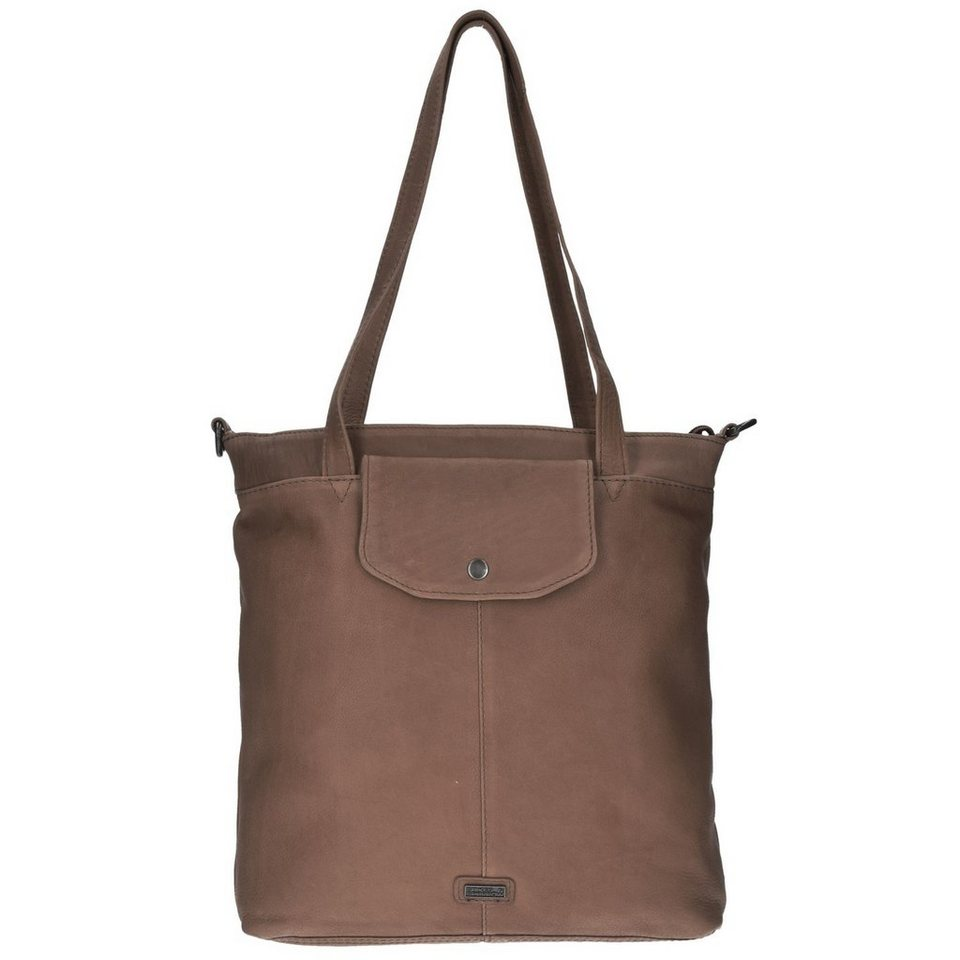 Spikes & Sparrow Idaho Shopper Tasche Leder 30 cm in dusk