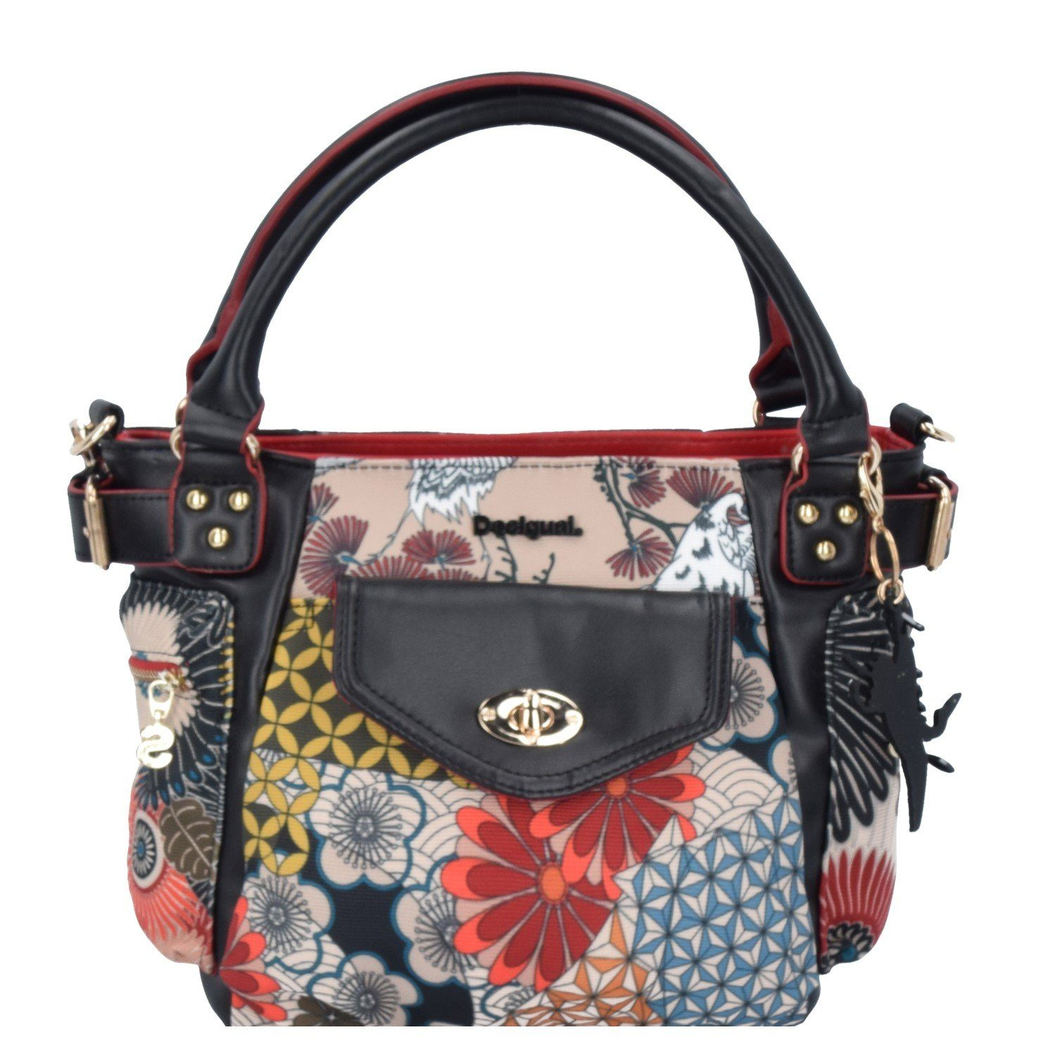 Desigual BOLS MCBee Mini Japan Fresh Shopper Tasche 20 cm