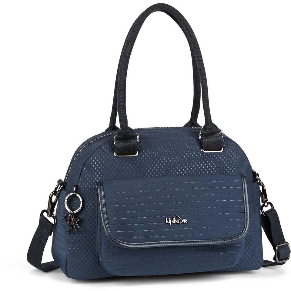KIPLING Twist Sabin Handtasche 32 cm in craft blue