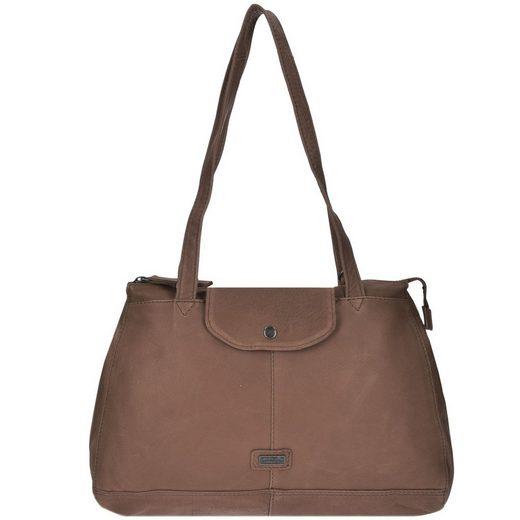 Spikes & Sparrow Idaho Handtasche Leder 36 cm