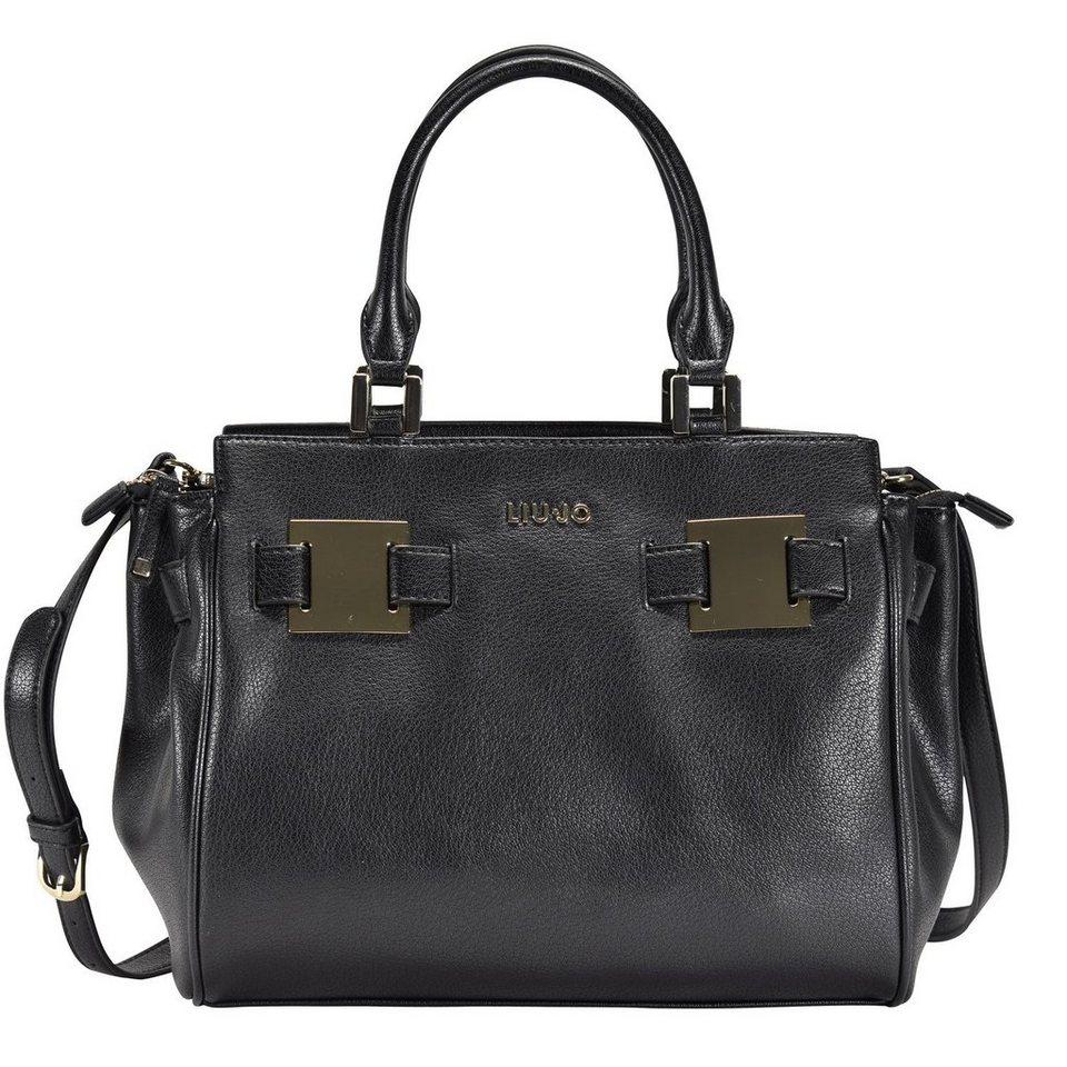 Liu Jo Shopping S Vulcano Shopper Tasche 35 cm in nero