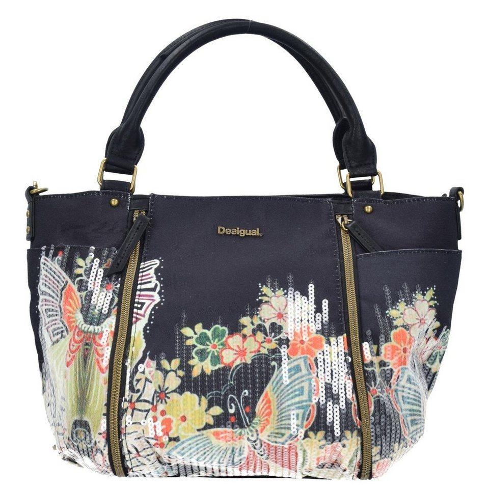 Desigual BOLS Sevilla Felicia Shopper Tasche 34 cm in negro